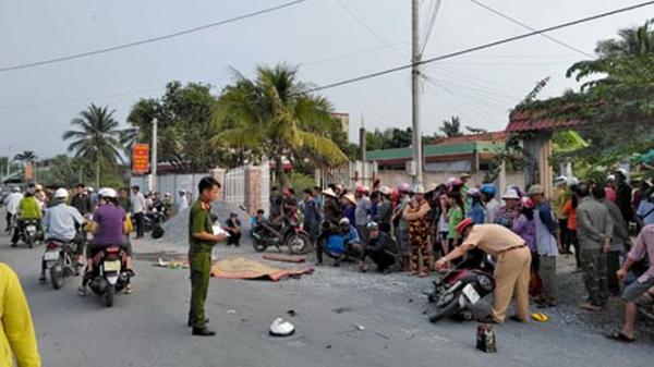 Xe đưa rước công nhân gây tai nạn chết người rồi bỏ đi