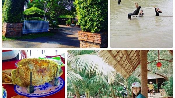 ĂN CHƠI TẸT GA với thiên đường mới ngay gần Tiền Giang