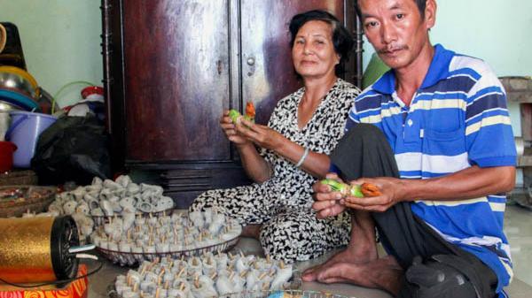Độc đáo nghề làm gà tàu tại Ninh Thuận