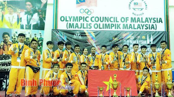 CLB Lân sư rồng Long Nghệ Bình Phước tỏa sáng trên đấu trường quốc tế