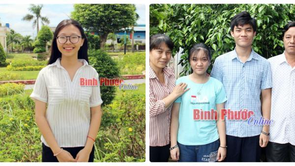 Bí quyết học giỏi của 2 học sinh Trường THPT chuyên Bình Long
