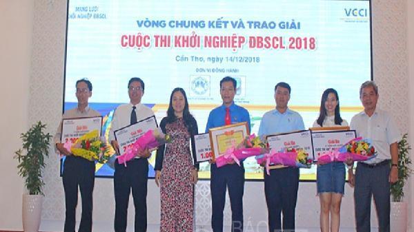 Chung kết cuộc thi khởi nghiệp Đồng bằng sông Cửu Long năm 2018