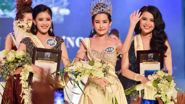 Nhan sắc Tân hoa hậu Đại Dương quê Tiền Giang gây nhiều tranh cãi