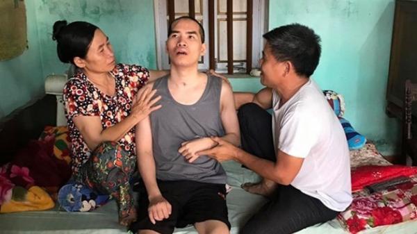 Chàng trai bị tai biến, liệt tứ chi trước ngày cưới ở Bắc Giang cần được giúp đỡ