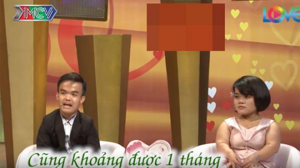 """Cô dâu tí hon Hưng Yên cùng chú rể tiết lộ lần đầu vượt rào """"ăn cơm trước kẻng"""""""