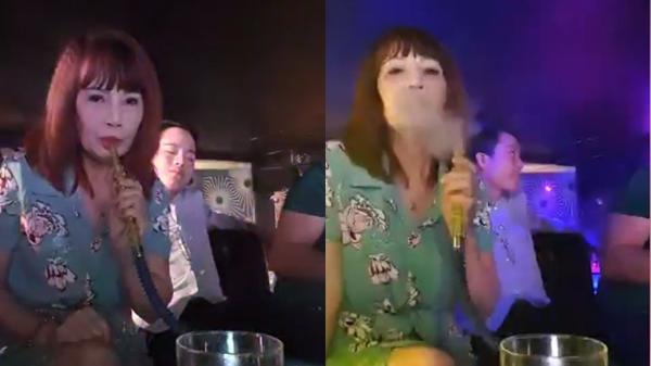 Sau phốt mang bầu giả, cô dâu 62 rủ chồng lên bar hút shisha giải khuây, nhả khói chuyên nghiệp như dân chơi