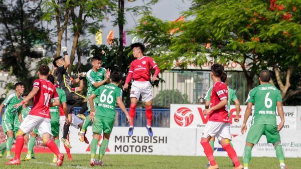 CLB Phố Hiến (Hưng Yên) giành chiến thắng 3-1 trước CLB Phù Đổng tại vòng 7 giải hạng Nhất quốc gia 2019