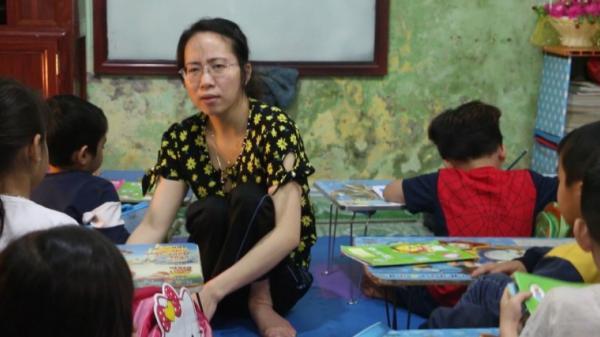 Lớp học đặc biệt của cô giáo khuyết tật ở Hưng Yên khiến ai cũng nể phục