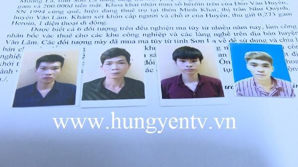 Hưng Yên: B.ắt 6 con ngh.iện thuê trọ tại Văn Lâm để t.àng tr.ữ và bán m.a t.úy