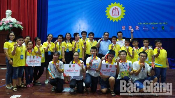 18/18 học sinh TP Bắc Giang giành huy chương tại Cuộc thi Toán Tuổi thơ toàn quốc năm 2019