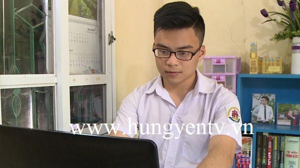 Nguyễn Minh Quân - học sinh Hưng Yên đoạt huy chương Bạc Olympic Tin học châu Á – Thái Bình Dương