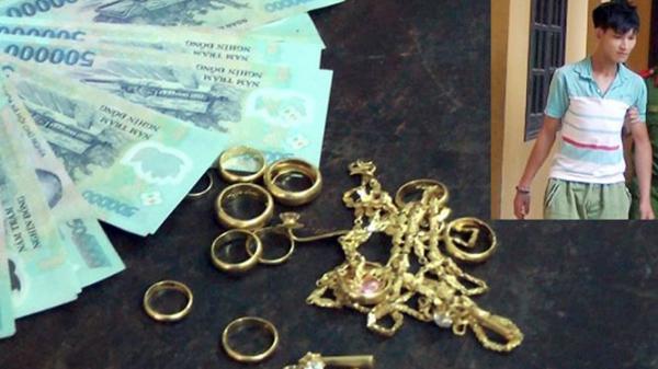 Hưng Yên: Đi ngủ không khóa cửa, 4 cây vàng 'bốc hơi'