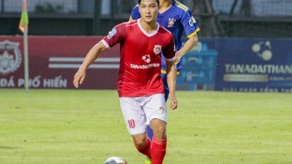 Thắng đậm Bình Định 4-1, Phố Hiến FC (Hưng Yên) giữ vững vị trí thứ 2 tại giải hạng Nhất