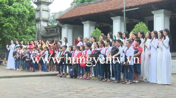 Nhan sắc hoa hậu hội tụ tại Hưng Yên