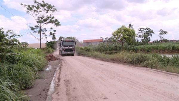 Kỳ lạ con đường, nhà thầu 'ăn' tiền hai lần ở Kim Động, Hưng Yên