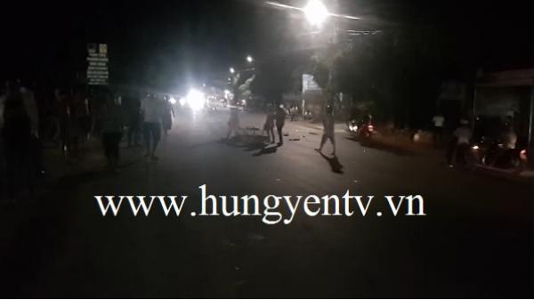 Hưng Yên: Xe máy đ.âm vào ô tô đi ngược chiều, 2 người ng.uy kịch