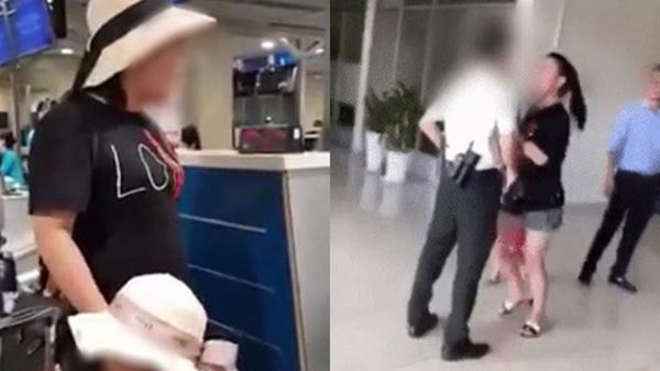 Cấm bay 12 tháng đối với nữ đại úy công an Hà Nội làm loạn sân bay