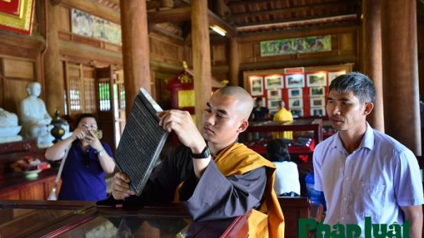 Cận cảnh Mộc bản chùa Vĩnh Nghiêm, Bắc Giang - Di sản Tư liệu thế giới