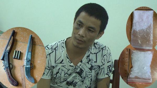 Hưng Yên: Bắt đối tượng cất giấu m.a t.úy và súng đạn trong nhà
