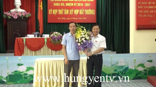 Kim Động (Hưng Yên) có Phó Chủ tịch UBND huyện mới
