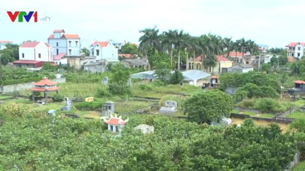 Lãnh đạo thôn tại Hưng Yên tự bán đất nghĩa trang để trục lợi