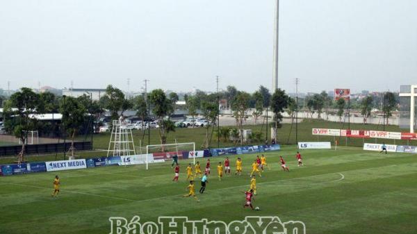 CLB Phố Hiến (Hưng Yên) đoạt giải Nhì giải bóng đá hạng Nhất Quốc gia LS 2019