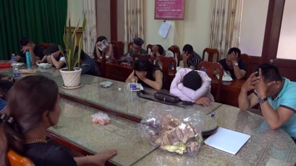 """Liên tiếp bắt q.uả tang nam thanh, nữ tú """"phê"""" m.a t.úy tập thể ở Bắc Giang"""