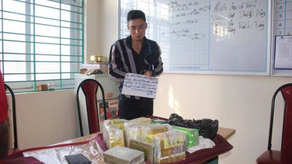 Bắt đối tượng Bắc Giang cùng đồng bọn vận chuyển lượng m.a tú.y 'khủng'