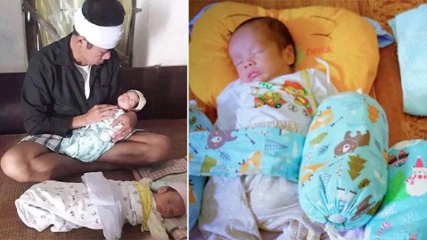 Hưng Yên: Người đàn ông hiếm muộn vừa có con thì mất vợ