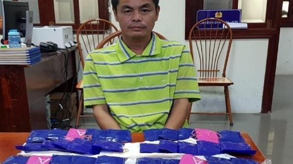 Bắt giữ đối tượng mua hàng nghìn viên ma túy từ Lào về bán để kiếm lời