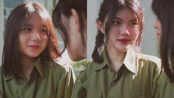 Hưng Yên: 'Thả thính sương sương' bằng vài bức ảnh quân sự xinh đẹp, các nữ sinh trường Đoàn Thị Điểm Greenfield khiến nhiều người 'đứng ngồi không yên'