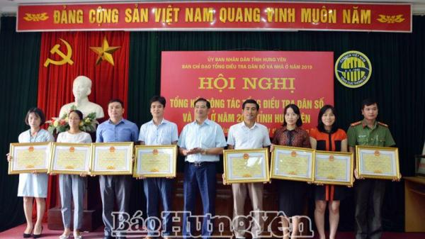 Dân số Hưng Yên đông thứ 28 toàn quốc