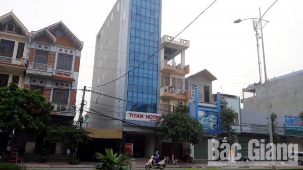Nhà nghỉ TiTan (TP Bắc Giang): 4 lần bị phát hiện có khách lưu trú sử dụng m.a t.úy