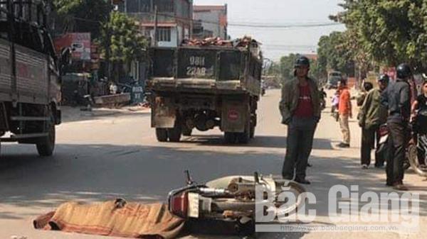Lục Ngạn (Bắc Giang): Một người t.ử v.o.n.g do tai n.ạn giao thông