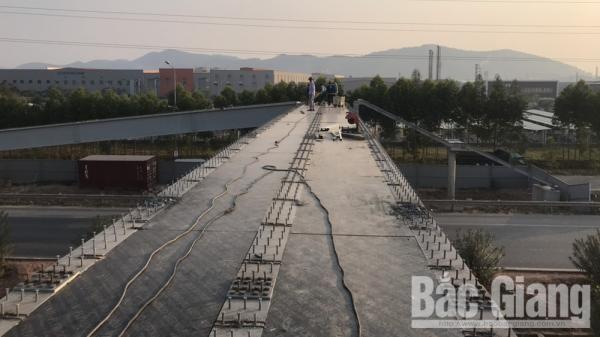 THÔNG BÁO: Dự kiến 22-12 sẽ đưa vào sử dụng cầu vượt cao tốc Hà Nội – Bắc Giang và QL 37