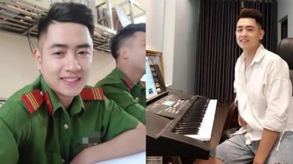 'Soái ca công an' quê Hưng Yên gây sốt nhờ gương mặt điển trai cùng giọng hát 'mê hồn người'