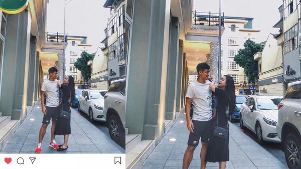 Hà Đức Chinh lần đầu khoe ảnh đôi mừng sinh nhật bạn gái quê Bắc Giang