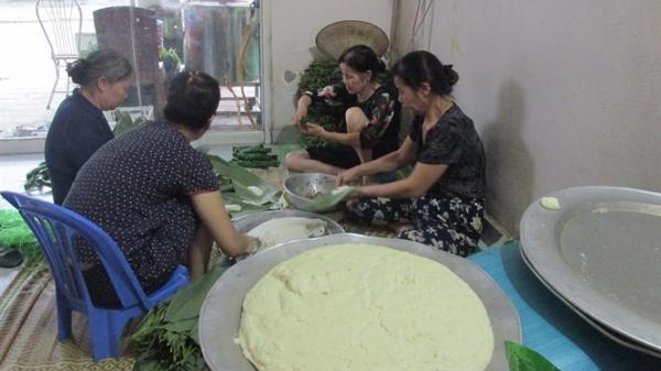 Một thôn làm bánh tẻ ở Hưng Yên thu 6 tỷ đồng/tháng