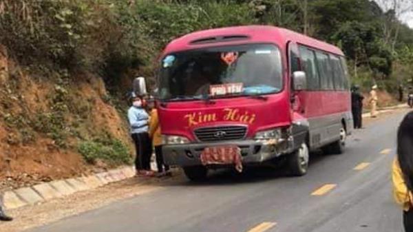 Va chạm với xe khách mang BKS Hưng Yên, 3 người đi xe máy tử vong