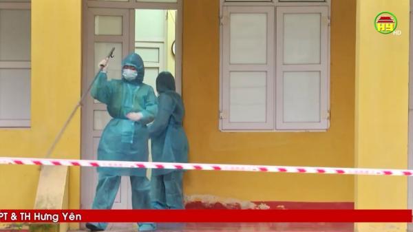 Hưng Yên cách ly gần 300 trường hợp để phòng chống dịch nCoV