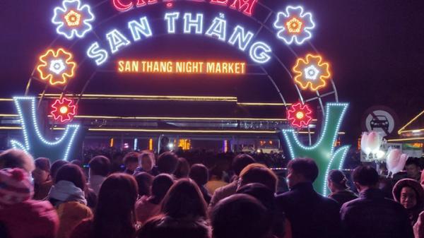 Chợ đêm San Thàng - nét đẹp văn hóa vùng cao