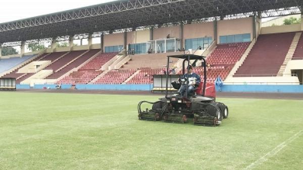 Phú Thọ chuẩn bịchotrậngiao hữu giữa U23 Việt Nam và U23 Myanmar