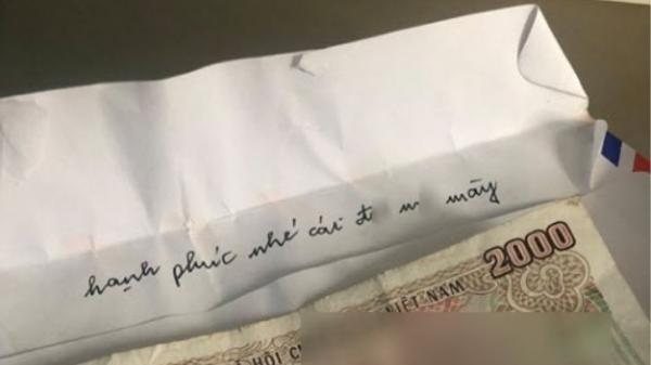 Tình cũ của chồng gửi phong bì mừng cưới 2.000 đồng kèm câu chửi thề chúc phúc