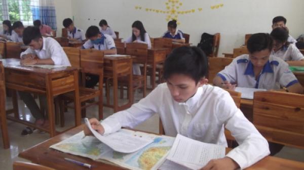 Cà Mau: Hoàn thành Kỳ thi khảo sát chất lượng các môn thi THPT quốc gia