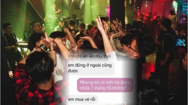 """Vợ bầu 7 tháng """"nằng nặc"""" đòi đến lễ hội âm nhạc ở quán bar Sài Gòn quẩy rồi mới chịu đẻ"""