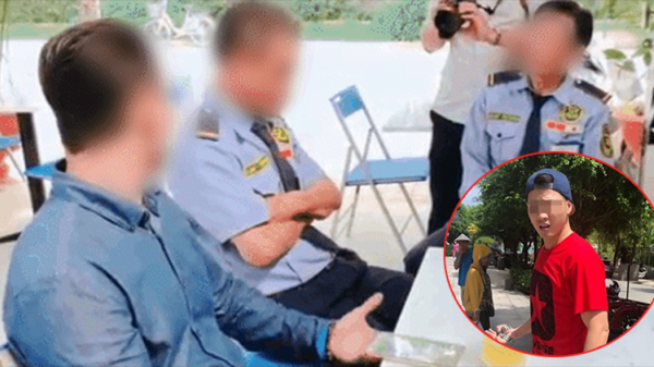 Thanh niên Việt kiều đến tận nơi xin lỗi 2 nhân viên bảo vệ ở Sài Gòn: 'Con không khinh mấy chú, con cũng tự làm đủ nghề mới có tiền'