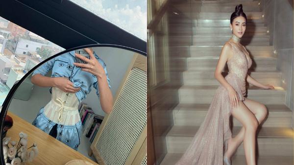 Hoa hậu gốc Bến Tre tiết lộ về khung sắt để bó thân hình đồng hồ cát hoàn hảo
