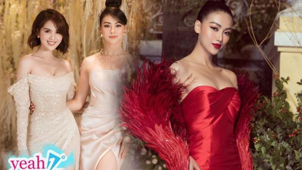 Người đẹp Bến Tre - Phương Khánh đọ dáng cùng Ngọc Trinh, biến hoá 2 phong cách trong 1 đêm khó nhận ra