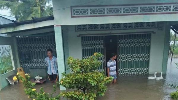 Miền Tây: Gần 800 căn nhà bị sậ.p, tốc mái và ngập nước do ảnh hưởng bão số 3