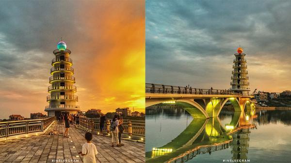 Đẹp đến 'đứng hình', cây cầu đi bộ ở Phú Thọ trở thành địa điểm check-in mới khiến giới trẻ 'sốt sắng'